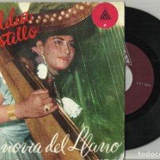 Discos de vinilo: ADILIA CASTILLO EP LA NOVIA DEL LLANO-ROSALINDA + 3.COLOMBIA. Lote 94098790