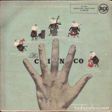 Discos de vinilo: EP- LOS CINCO THE FIVE RCA 20120 SPAIN SIN FECHA JAZZ. Lote 94119180
