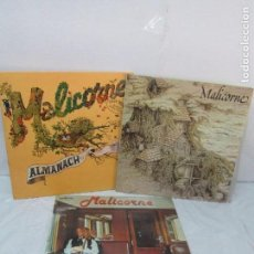 Discos de vinilo: MALICORNE. ALMANACH... TRES DISCOS VINILO. VER FOTOGRAFIAS ADJUNTAS. Lote 94131330