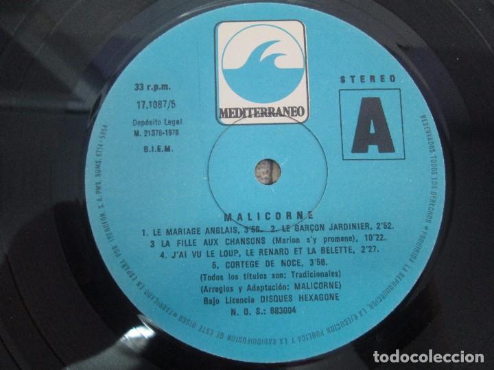 Discos de vinilo: MALICORNE. ALMANACH... TRES DISCOS VINILO. VER FOTOGRAFIAS ADJUNTAS - Foto 13 - 94131330