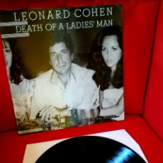 Discos de vinilo: LEONARD COHEN DEATH OF A LADIES' MAN. LP.CBS.SPAIN. Lote 94135692