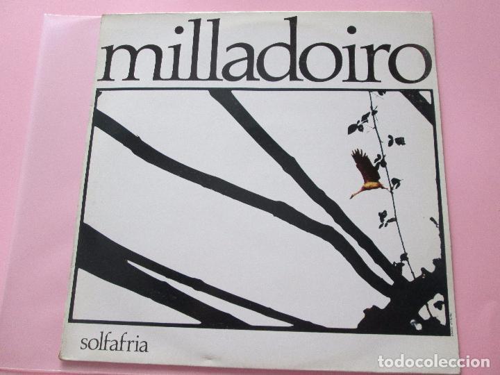 LP-MILLADOIRO-SOLFAFRIA-1985-CBS-PERFECTO ESTADO-10 TEMAS-VER FOTOS. (Música - Discos - LP Vinilo - Country y Folk)