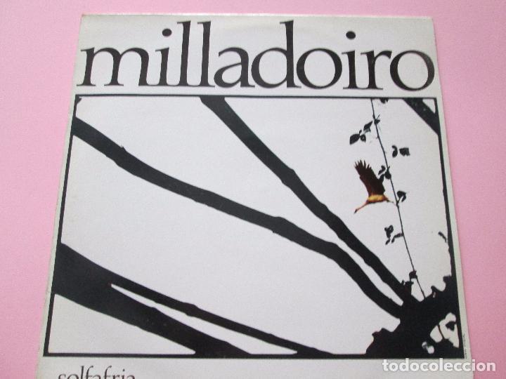 Discos de vinilo: lp-milladoiro-solfafria-1985-cbs-perfecto estado-10 temas-ver fotos. - Foto 2 - 94136945