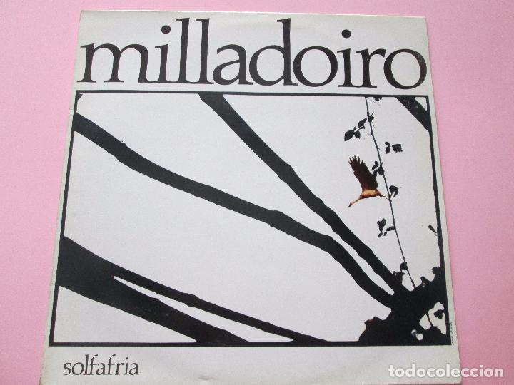 Discos de vinilo: lp-milladoiro-solfafria-1985-cbs-perfecto estado-10 temas-ver fotos. - Foto 4 - 94136945