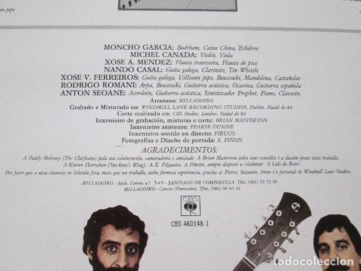 Discos de vinilo: lp-milladoiro-solfafria-1985-cbs-perfecto estado-10 temas-ver fotos. - Foto 6 - 94136945