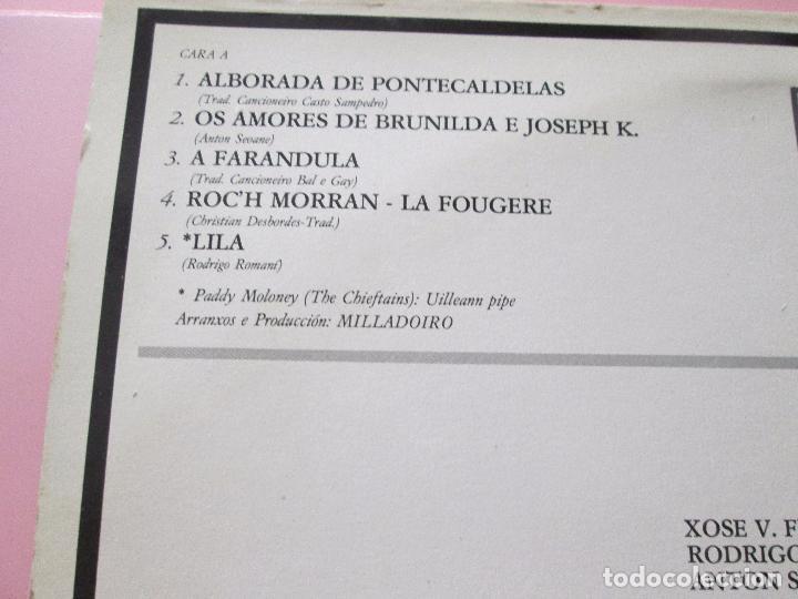 Discos de vinilo: lp-milladoiro-solfafria-1985-cbs-perfecto estado-10 temas-ver fotos. - Foto 8 - 94136945