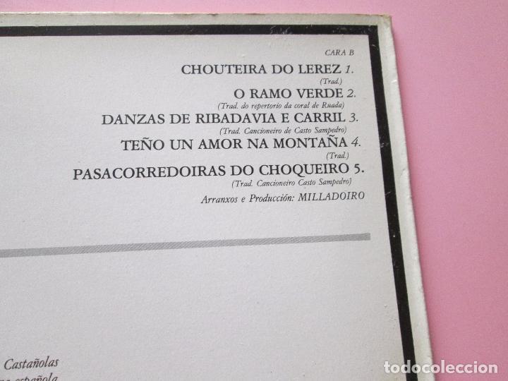 Discos de vinilo: lp-milladoiro-solfafria-1985-cbs-perfecto estado-10 temas-ver fotos. - Foto 9 - 94136945