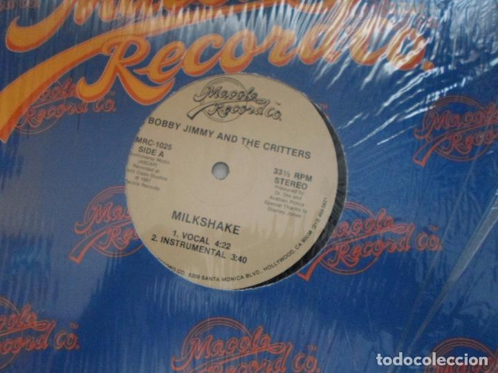 Discos de vinilo: BOBBY JIMMY AND THE CRITTERS MILKSHAKE - Foto 2 - 94156835