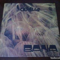 Discos de vinilo: LP VINILO BANA - CIDÁLIA - PORTUGAL ORIG. PRESS DMC 111-111 - FADO BOSSA FOLK - RARO!!!!!!!!. Lote 94159925