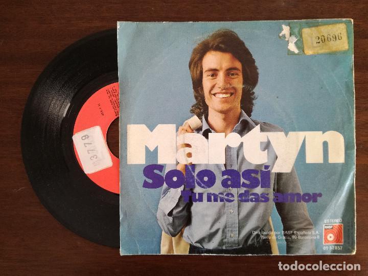 Discos de vinilo: MARTYN, SOLO ASI (BASF) SINGLE - Foto 2 - 94169715