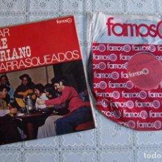 Discos de vinilo: LP LOS CHARRASQUEADOS. A CANTAR. FOLCLORE ECUATORIANO.. Lote 94174520