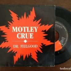 Dischi in vinile: MOTLEY CRUE, DR. FEELGOOD (WEA) SINGLE PROMOCIONAL ESPAÑA. Lote 94176135