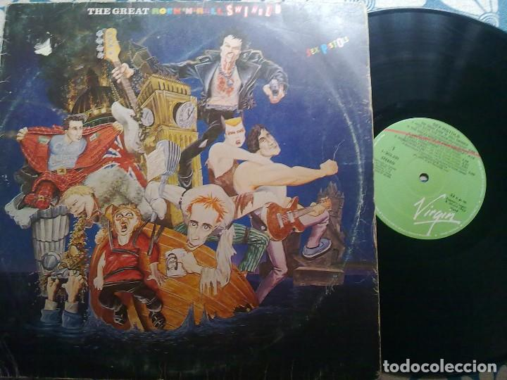 SEX PISTOLS- THE GREAT ROCK´N´ROLL SWINDLE (Música - Discos - LP Vinilo - Punk - Hard Core)