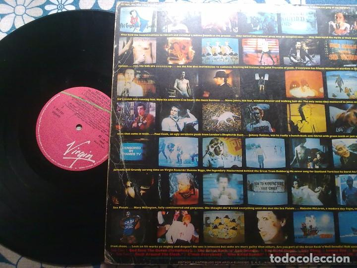 Discos de vinilo: SEX PISTOLS- THE GREAT ROCK´N´ROLL SWINDLE - Foto 2 - 155934545