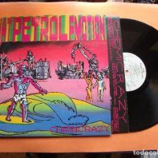 Discos de vinilo: THAT PETROL EMOTION CHEMICRAZY LP UK 1990 PDELUXE. Lote 94182535