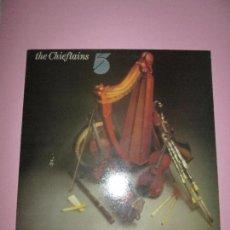 Discos de vinilo: LP-THE CHIEFTAINS 5-CEIRNINI CLADARG-IRLANDA-1975-ORIGINAL EIRE-10 TEMAS-FUNDA EXTERIOR E INTERIOR N. Lote 94183240