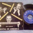 Discos de vinilo: TRIO CANDIDO - RECITAL DE ARMONICA - CABALLERIA LIGERA + 3 SPAIN 1961. Lote 94187530