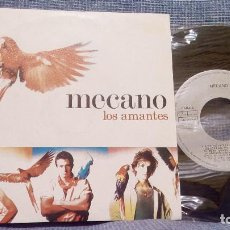 Discos de vinilo: SINGLE - MECANO - LOS AMANTES / FABULA - ARIOLA - AÑO 1988. Lote 94188280
