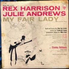 Discos de vinilo: LP ESTADOUNIDENSE MY FAIR LADY AÑO 1956 VERSIÓN TEATRAL . Lote 94189790