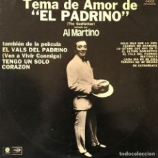 Discos de vinilo: LP ARGENTINO DE AL MARTINO AÑO 1972 . Lote 94190880