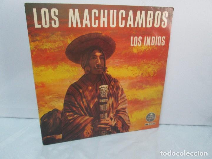 LOS MACHUCAMBOS. LOS INDIOS. MAVOTAPE 1963. DISCO VINILO. VER FOTOGRAFIAS ADJUNTAS (Música - Discos - Singles Vinilo - Étnicas y Músicas del Mundo)