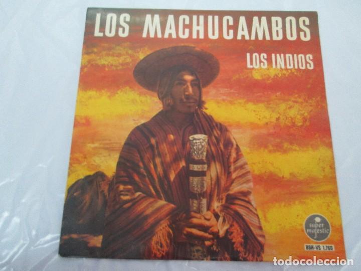 Discos de vinilo: LOS MACHUCAMBOS. LOS INDIOS. MAVOTAPE 1963. DISCO VINILO. VER FOTOGRAFIAS ADJUNTAS - Foto 2 - 94194165