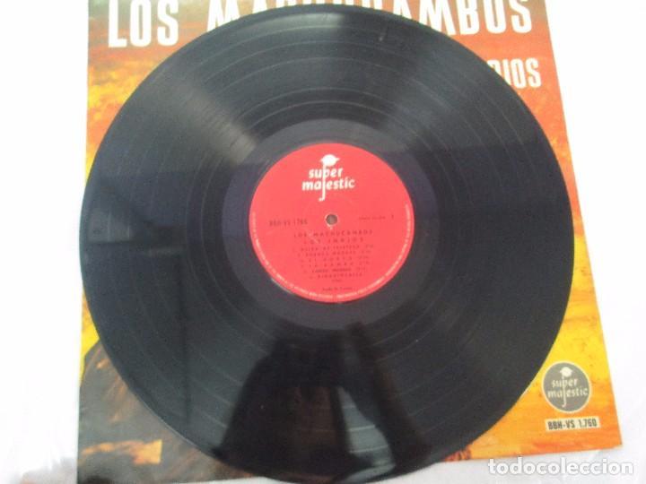 Discos de vinilo: LOS MACHUCAMBOS. LOS INDIOS. MAVOTAPE 1963. DISCO VINILO. VER FOTOGRAFIAS ADJUNTAS - Foto 3 - 94194165