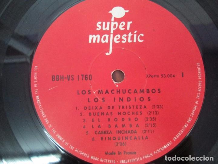 Discos de vinilo: LOS MACHUCAMBOS. LOS INDIOS. MAVOTAPE 1963. DISCO VINILO. VER FOTOGRAFIAS ADJUNTAS - Foto 4 - 94194165