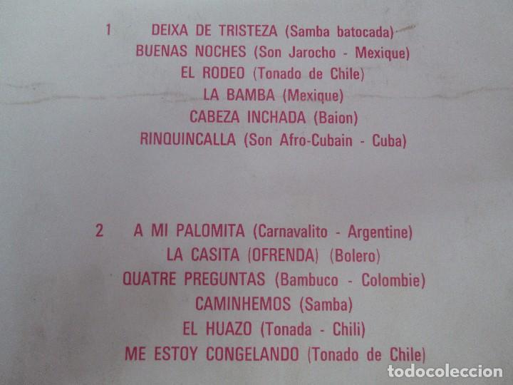 Discos de vinilo: LOS MACHUCAMBOS. LOS INDIOS. MAVOTAPE 1963. DISCO VINILO. VER FOTOGRAFIAS ADJUNTAS - Foto 7 - 94194165