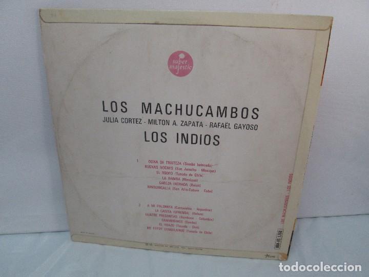 Discos de vinilo: LOS MACHUCAMBOS. LOS INDIOS. MAVOTAPE 1963. DISCO VINILO. VER FOTOGRAFIAS ADJUNTAS - Foto 9 - 94194165