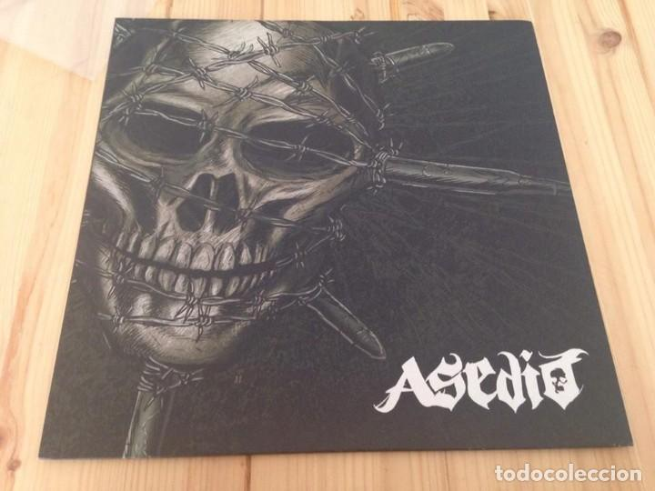ASEDIO--ASEDIO -LP PUNK HARD CORE (Música - Discos - LP Vinilo - Punk - Hard Core)