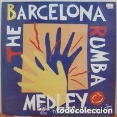 Discos de vinilo: THE BARCELONA RUMBA MEDLEY - LOS AMAYA, LOS MANOLOS, PERET - MAXI-SINGLE SPAIN 1992. Lote 94207755