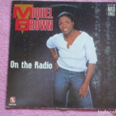 Discos de vinilo: MIQUEL BROWN,ON THE RADIO EDICION ESPAÑOLA DEL 85 PROMO. Lote 94210530