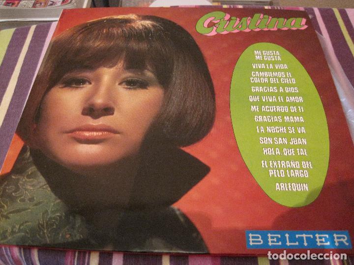 LP- CRISTINA BELTER 22420 SPAIN 1970 (Música - Discos - LP Vinilo - Solistas Españoles de los 50 y 60)