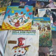 Discos de vinilo: LOTE 9 DISCOS DE MUSICA INFANTIL ORIGINALES DE LOS 60. Lote 94214095