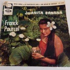 Discos de vinilo: VINILO MAXI SINGLE 7 JUANITA BANANA FRANCK POURCEL EPL 14.286. Lote 94223600