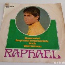 Discos de vinilo: VINILO MAXI SINGLE 7 RAPHAEL HH 17 408. Lote 94241985