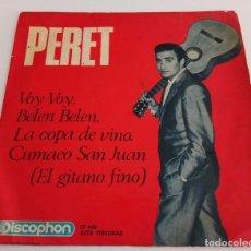 Discos de vinilo: VINILO MAXI SINGLE 7 PERET DISCOPHON 24.448 . Lote 94249760