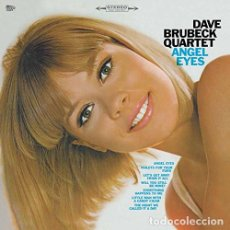 Discos de vinilo: LP DAVE BRUBECK QUARTET ANGEL EYES VINILO 180 G JAZZ . Lote 94255305