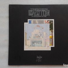 Discos de vinilo: LED ZEPPELIN - THE SOUNDTRACK FROM THE FILM THE SONG REMAINS THE SAME DOBLE LP 1973 ED ALEMANA. Lote 94261050