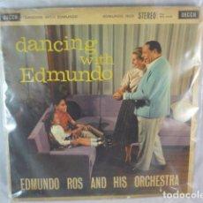 Discos de vinilo: EDMUNDO ROS AND HIS ORQUESTA - DANCING WITH EDMUNDO - DECCA SKL4100 - DISCO VINILO LP - UK. Lote 94264750