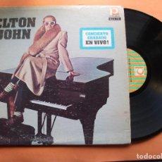Discos de vinilo: ELTON JOHN CONCIERTO GRABADO EN VIVO LP VENEZUELA 1976 PDELUXE. Lote 94268490