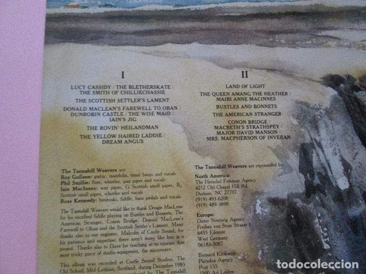 Discos de vinilo: lp-the tannahill weavers-land of light-1986-green linnet records-10 temas-fundas nuevas-ver fotos. - Foto 5 - 94276795