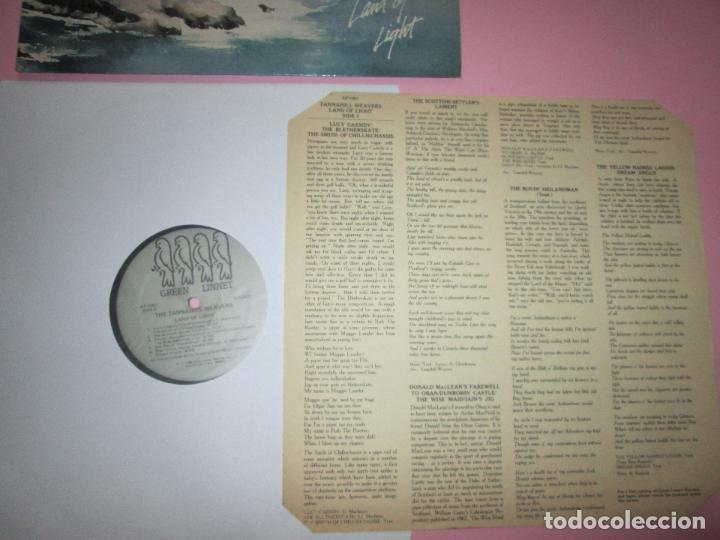 Discos de vinilo: lp-the tannahill weavers-land of light-1986-green linnet records-10 temas-fundas nuevas-ver fotos. - Foto 7 - 94276795