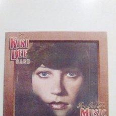 Discos de vinilo: THE KIKI DEE BAND I'VE GOT THE MUSIC IN ME ( 1974 THE ROCKET RECORD COMPANY ESPAÑA ) ELTON JOHN. Lote 94277630