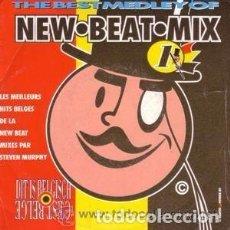 Disques de vinyle: NEW BEAT MIX (C'EST BELGE), SINGLE FRANCE 1989 - NEW BEAT. Lote 94295742