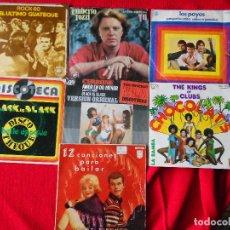 Discos de vinilo: LOTE 7 EPS BAILABLES: GUATEQUE-TOZZI-LOS PAYOS-KINGS OF CLUBS-CERRONE-HORST FISCHER-BELLE EPOQUE. Lote 224278297
