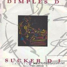 Discos de vinilo: DIMPLES D - SUCKER DJ - SINGLE PROMO 1990 - HIP HOP RAP. Lote 94316978