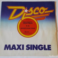 Discos de vinilo: G.Q. - DISCO NIGHTS (ROCK FREAK) / BOOGIE OOGIE OOGIE - 1979. Lote 57380983