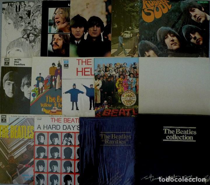 THE BEATLES COLLECTION - EDICION ITALIANA - VINILOS - LP CON CAJA ORIGINAL (Música - Discos - LP Vinilo - Rock & Roll)